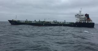 US Coast Guard, FDNY respond to disabled tanker after fire at sea