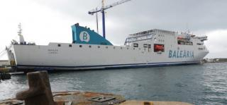 Spanish ferry company Balearia begins LNG retrofit work on its first ferry of six, to be converted to LNG operation