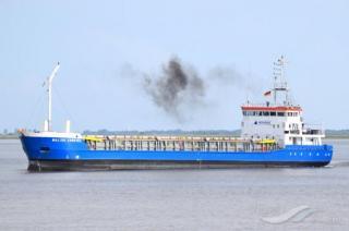 Motor vessel Baltic Carrier ran aground of Helsingborg