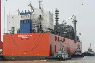 Exmar to Take Delivery of Caribbean FLNG in May