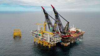 The first Johan Sverdrup topside installed