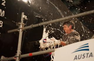 Austal USA Celebrates Christening Of USNS Yuma (T-EPF-8)