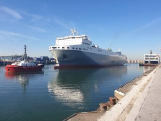 CLdN: Increase of frequency on the Zeebrugge-Santander Service