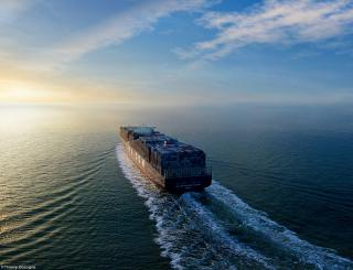 CMA CGM - The first shipping company to choose liquefied natural gas for its biggest ships