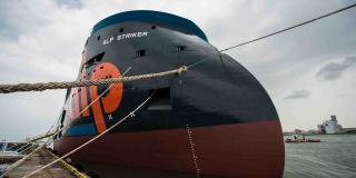 ULSTEIN: Naming Of First Ocean-Going Tug For ALP - ALP Striker