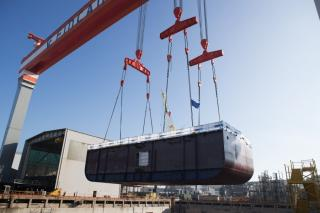 Fincantieri: Dry dock works start on Viking's sixth ocean ship