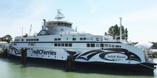 BC Ferries' newest vessel Salish Raven enters service early