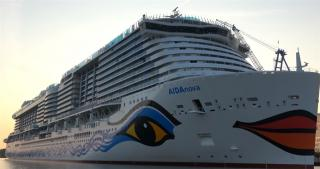 Carnival Corporation's AIDA Cruises Introduces AIDAnova, the World's First Cruise Ship Powered by LNG at Sea and in Port