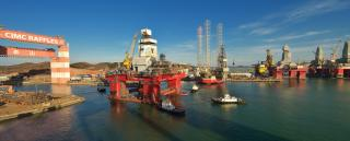 CIMC Raffles and Odfjell Drilling secure drilling contract for Beacon Atlantic