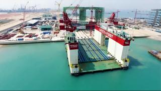 VIDEO: Construction & Installation of 1st Caisson at Tuas Terminal Port Phase 1