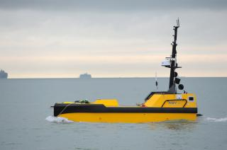 UK Ship Register signs its first unmanned vessel