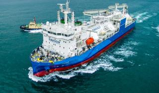 Babcock Schulte Energy delivers world's largest LNG Bunker Supply Vessel mv KAIROS