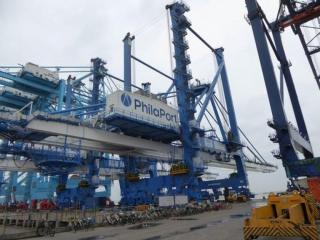 PhilaPort purchases two new Super Post-Panamax container cranes
