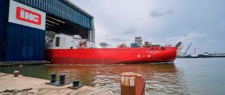 Subsea 7 and Royal IHC launch reel-lay vessel Seven Vega