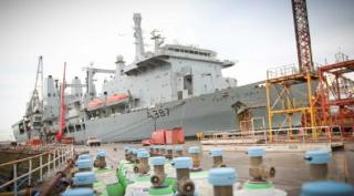 Cammell Laird completes £44Mln RFA Fort Victoria Refit