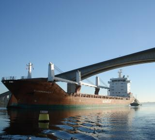 Precise Planning And Cooperation Leads To The Largest Vessel Ever To Call At Ipswich