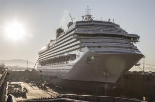 The biggest dry dock in the Mediterranean, Forme 10 in Marseille, inaugurated