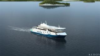 Wärtsilä solutions for new state-of-the-art Wasaline ferry create world class efficiency and eco-friendliness