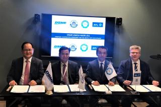 DSME, Korea Maritime and Ocean University, NAPA and AVL announce strategic partnership to develop digital ship