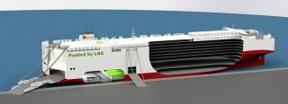 Construction of LNG ships for Volkswagen Group Logistics started