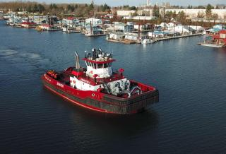 Jensen Maritime Provides Design for Shaver Transportation's New Tugboat – Samantha S