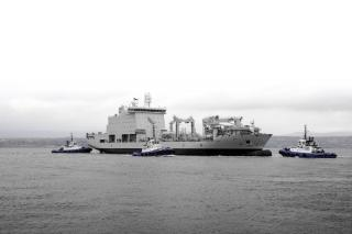 Davie Shipbuilding launches Resolve-class naval support ship