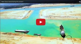 Video: New Suez Canal during the project
