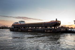 Van Oord launches first LNG-powered vessel