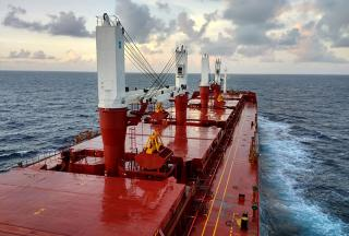 Seanergy Maritime Takes Delivery of the Capesize Vessel M/V Knightship