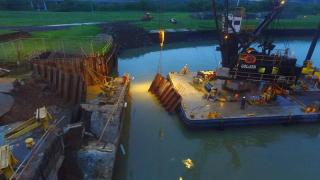 Panama Canal traffic 'normal' despite lock wall collapse