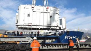 FESCO transports three transformers from Novorossiysk for Moscow central heating and power plants