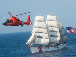 America's largest tall ship USCGC Eagle stops in Portsmouth