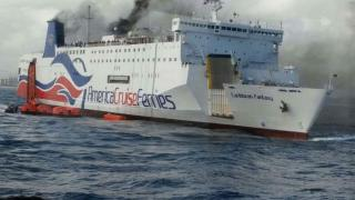 Over 500 People Evacuated After Fire Breaks Out On Ferry Off Coast of San Juan, PR (Video)