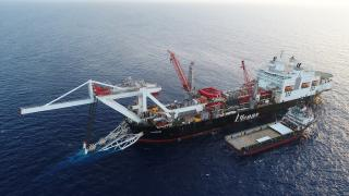 Offshore pipelay vessel Audacia begins pipelay works for Nord Stream 2