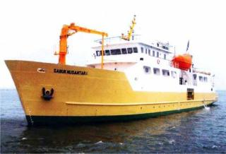 171 evacuated from grounded ro/pax ferry