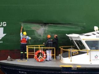 Chinese Container Ship Hits Wall of Panama Canal Renewing Design Concerns