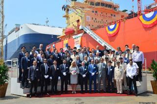 Hyundai Mipo Dockyard delivers ABS-classed LPG carrier