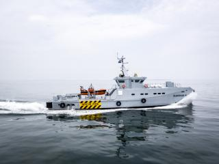 Fourth Damen 3307 Patrol Vessel delivered to Homeland Integrated Offshore Services