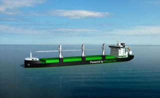 ESL Shipping Sets Sights on World's First LNG-Fuelled Bulkers