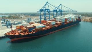 New Quetzal terminal welcomes largest vessel to call a Guatemalan Port