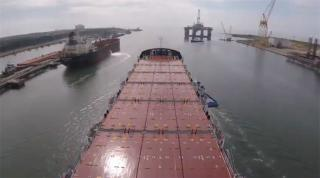 VIDEO: Crowley Carries Out Sea Trial of Second ConRo Ship Taino