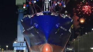 General Dynamics NASSCO Launches 2nd in a series Eco-Friendly LNG-Powered Container Ship