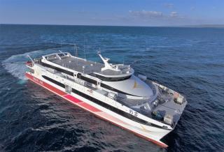 Austal Delivers High Speed Catamaran To Brave Line