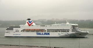 Ferry Victoria 1 damaged in storm in Baltic Sea