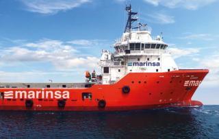 Marinsa unveils new platform supply vessel