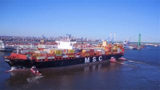 Video: PhilaPort Welcomes Its Largest Vessel to Date MSC Avni