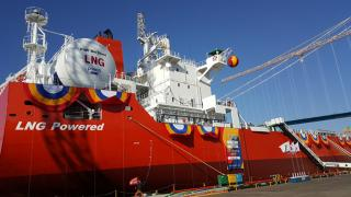 World's first LNG-fuelled bulk carrier delivered