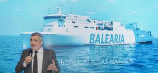 Baleària Presents the First Natural Gas-Propelled Ferries on the Mediterranean at FITUR