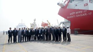 Adani inaugurates two Royal IHC Beagle TSHDs