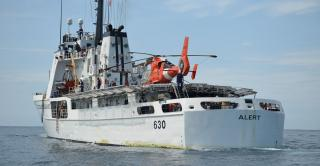 US Coast Guard Cutter Alert returns home after seizing $17 million worth of cocaine